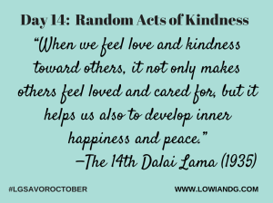 Day 14_ Random Acts of Kindness