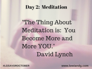 Day 2 Meditation