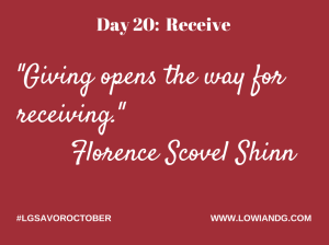 Day 20_ Receive