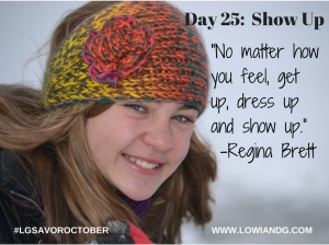 Day 25_ Show Up