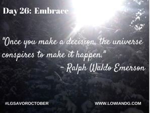 Day 26_ Embrace