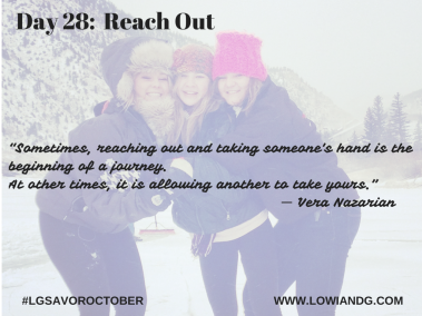 Day 28_ Reach Out