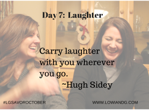 Day 7 Laughter