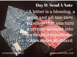Day9 Send Note