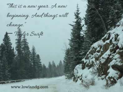 """""""This is a new year. A new beginning."""