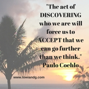 %22The act of discovering who we are will